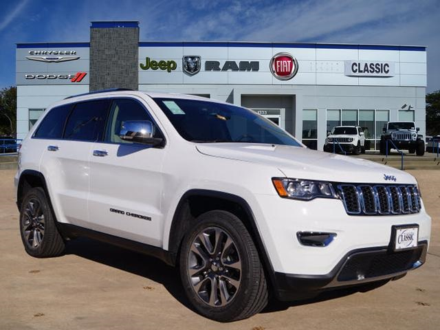 New 2018 Jeep Grand Cherokee Limited Sport Utility In Arlington