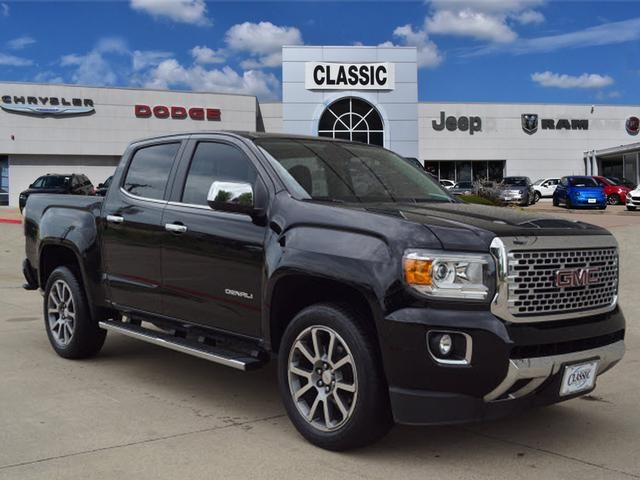 Gmc Canyon Denali >> Pre Owned 2017 Gmc Canyon Denali 4d Crew Cab In Arlington Kn560765a