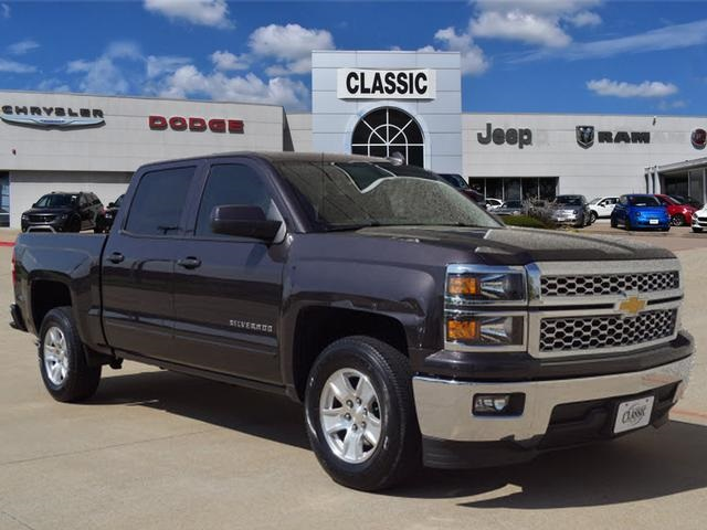 Pre Owned 2015 Chevrolet Silverado 1500 Lt 4d Crew Cab In Arlington
