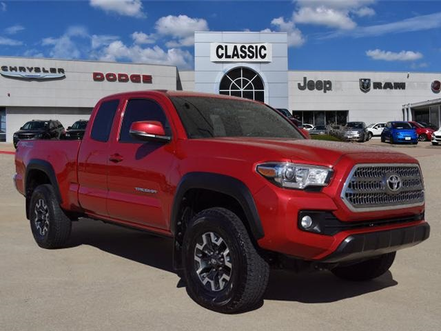 Pre Owned 2016 Toyota Tacoma Trd Offroad