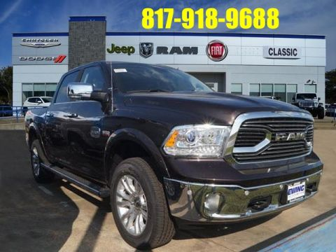NEW 2017 RAM 1500 LARAMIE LONGHORN WITH NAVIGATION & 4WD